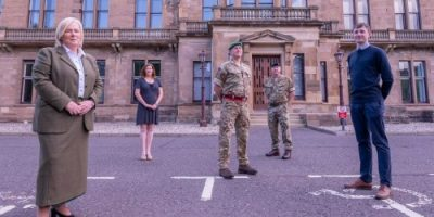 Edinburgh Napier University leads the way in supporting Scotland's armed forces