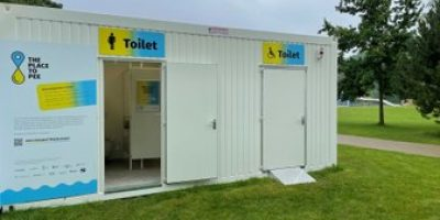 Circular toilet in Ghent recycles urine of visitors
