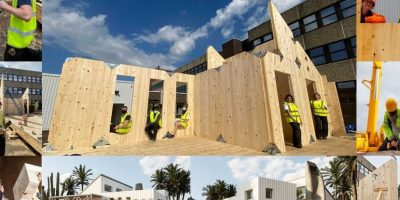 Construction started for Eco-friendly prototype house on campus