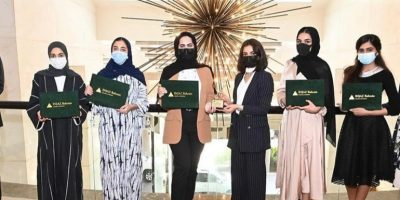 """RUW's """"Hassad"""" team shines in the INJAZ Bahrain Young Entrepreneurs Competition 2021"""
