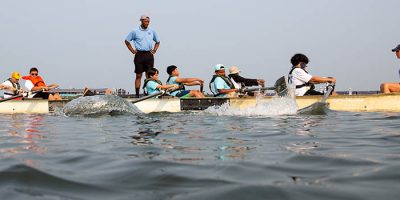 Young Atlantic City Rowers Trade City Streets for Back Bay